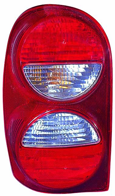 Jeep Liberty 2005 2006 2007 tail light left driver