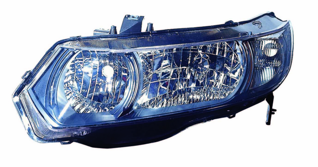 Honda Civic Coupe 2010 2011 left driver headlight
