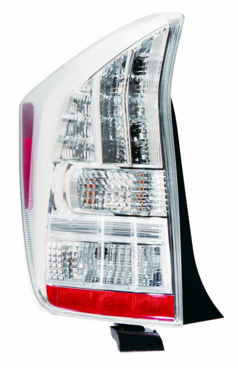Toyota Prius 2010 2011 tail light left driver